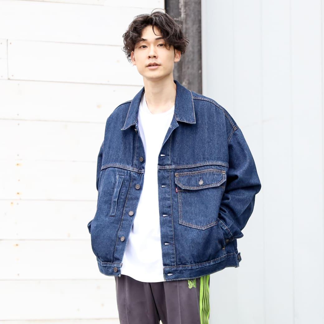 【今だけ10%OFF】 Levi's リーバイス ステイルーズ タイプワン トラッカージャケット