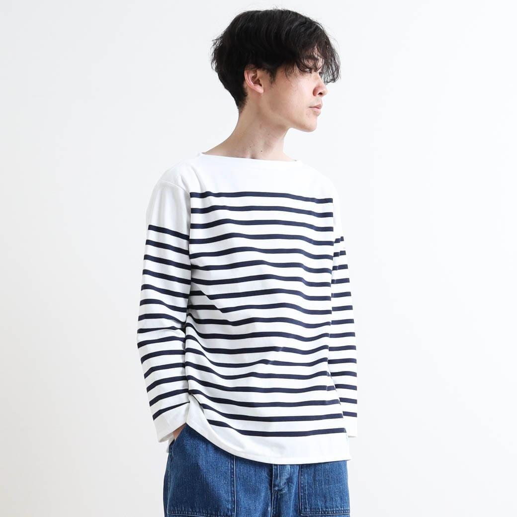 【今だけ10%OFF】ORCIVAL オーシバル RACHEL FRENCH SAILOR SHIRT ラッセルフレンチセーラーシャツ