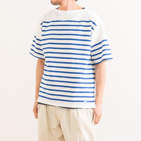 ORCIVAL オーシバル RACHEL FRENCH SAILOR S/S SHIRT ラッセルフレンチセーラーシャツ 半袖 6116