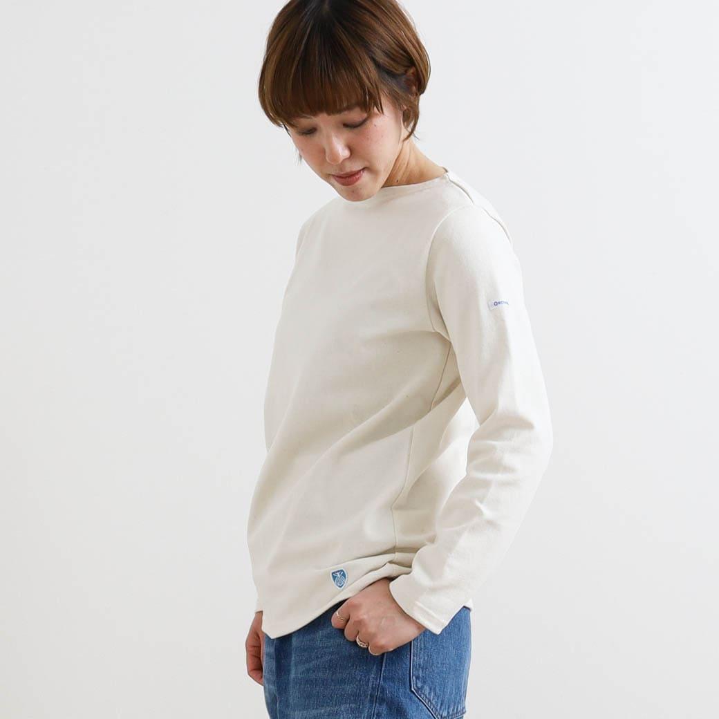 【今だけ10%OFF】ORCIVAL オーシバル コットンロードフレンチバスクシャツ ボーダー