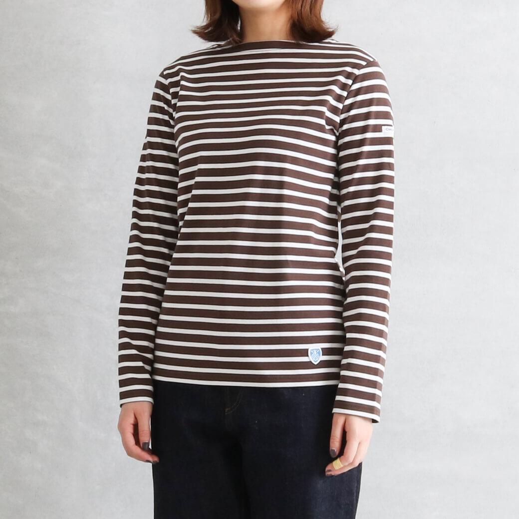 ORCIVAL オーシバル ボートネック プルオーバー 長袖Tシャツ