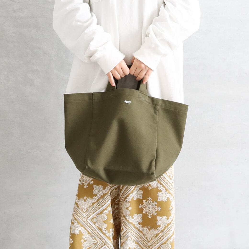 【先行予約】ORCIVAL オーシバル キャンバストートバッグ(Sサイズ)