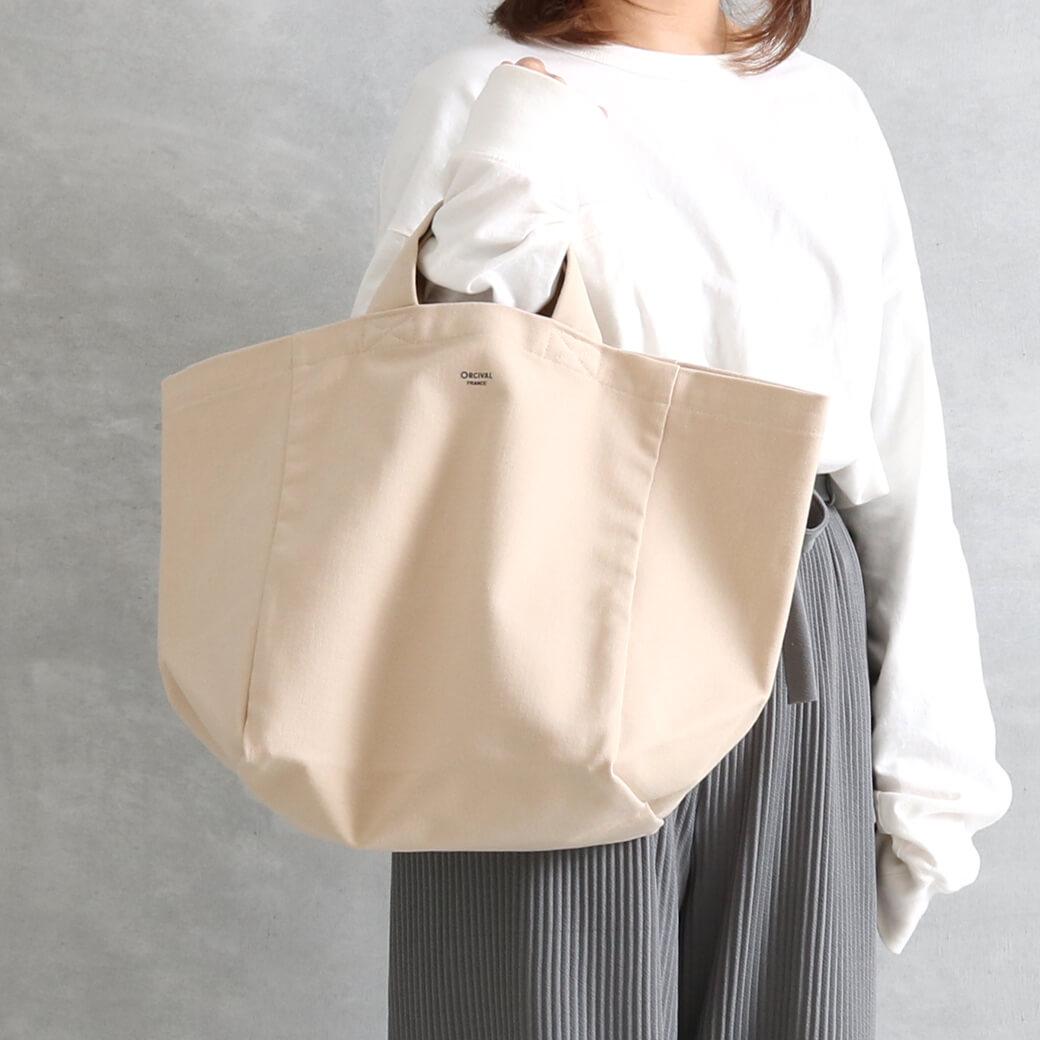 【今だけ10%OFF】ORCIVAL オーシバル キャンバストートバッグ(Mサイズ)