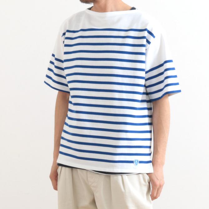 メンズ ORCIVAL(オーシバル) ラッセル フレンチセーラーTシャツ 6116 RC01WC