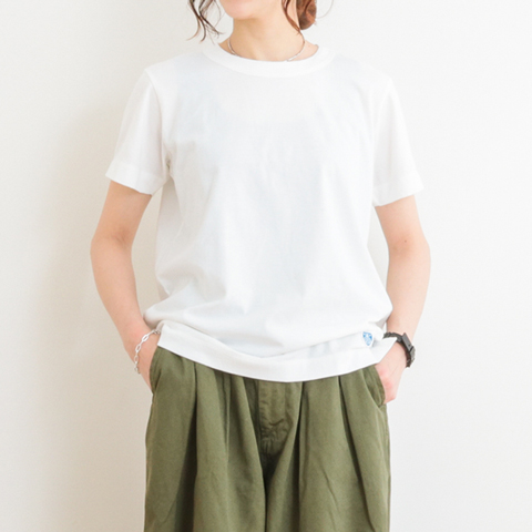 ORCIVAL オーシバル COTTON SHORT SLEEVE TEE RC-6919