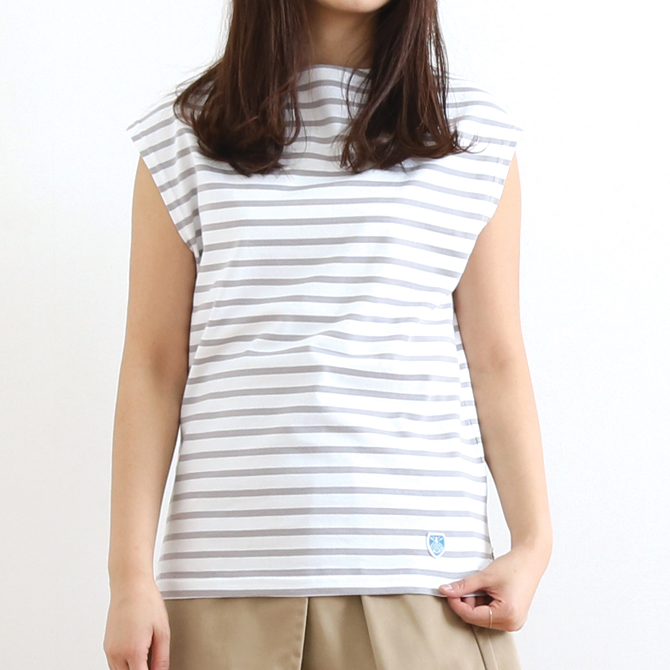 ORCIVAL(オーシバル) BOATNECK FRENCH SLEEVES T-SHIRT ボートネック フレンチスリーブ Tシャツ RC-9226 レディース