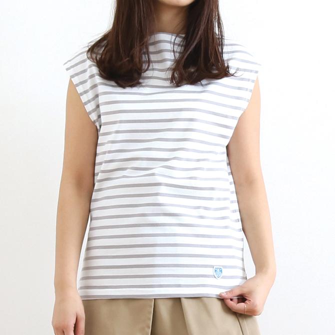 【今だけ10%OFF】ORCIVAL(オーシバル) BOATNECK FRENCH SLEEVES T-SHIRT ボートネック フレンチスリーブ Tシャツ RC-9226 レディース