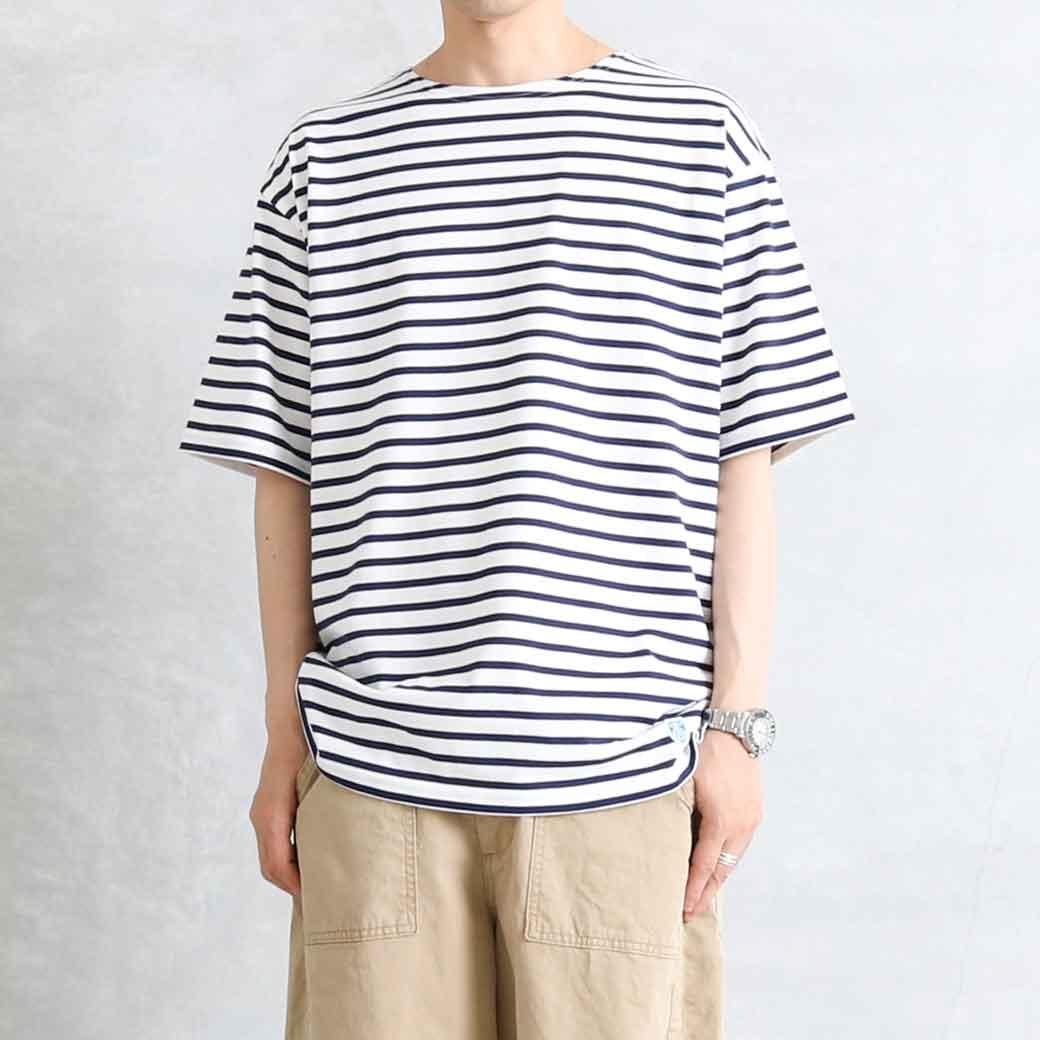 【今だけ10%OFF】ORCIVAL オーシバル 40/2 ジャージーショートスリーブTシャツ