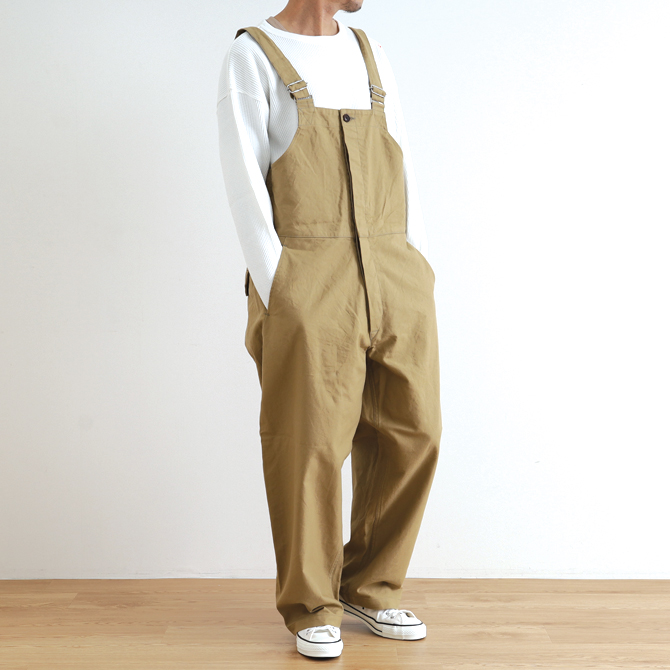 ORDINARY FITS(オーディナリーフィッツ) DUKE OVERALL デューク オーバーオール OF-O010 メンズ