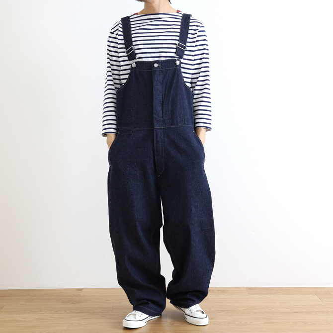 ORDINARY FITS(オーディナリーフィッツ) DUKE OVERALL DENIM one wash IND デューク オーバーオール OF-O013OW デニム ワンウォッシュ インディゴ メンズ
