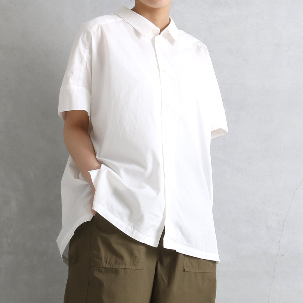 【今だけ10%OFF】ORDINARY FITS オーディナリーフィッツ ワイドバーバーシャツ