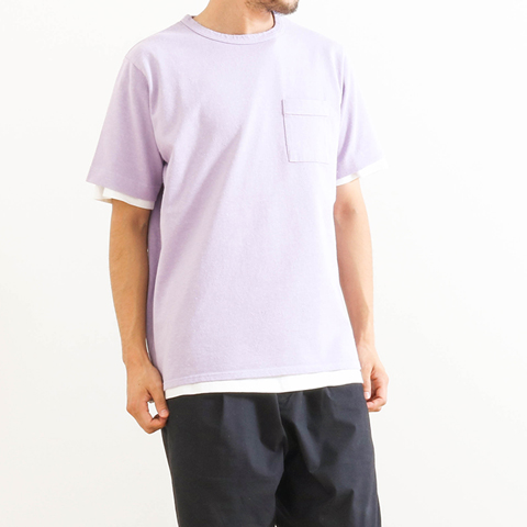 Manual Alphabet マニュアルアルファベット Exclusive Nep Pocket Tee 18SM-BF-C-01