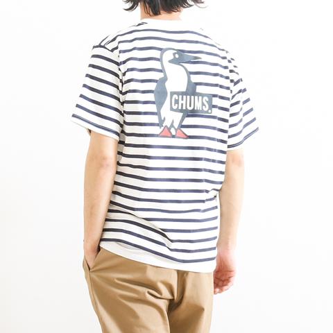 CHUMS チャムス BOOBY LOGO T-SHIRT ブービーロゴTシャツ CH01-1326