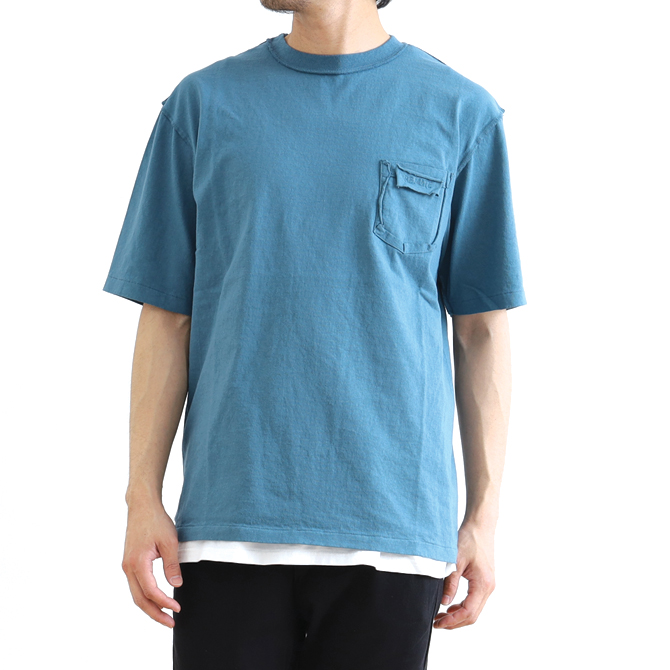 RE.MATE(リマイト) RE.MATE×VELVA SHEEN×BORNFREE Exclusive SOLID COLOR POCKET T-SHIRT MTO-TEE-01-BFメンズ 半袖