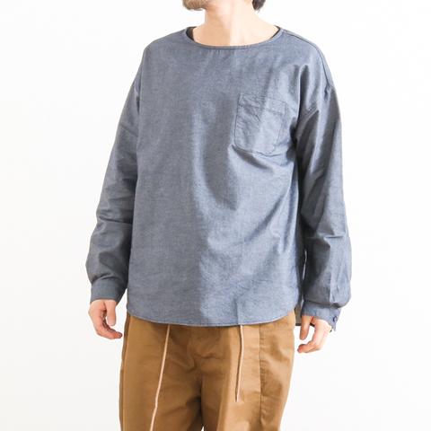 【今だけ10%OFF】SUMI yarn スミヤーン Exclusive PULL OVER SHIRT 別注プルオーバーシャツ SUMI-BF001