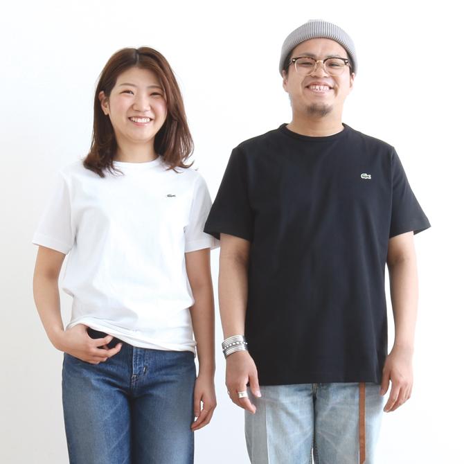 LACOSTE(ラコステ) ベーシッククルーネックTシャツ 半袖 TH622EM メンズ レディース ユニセックス