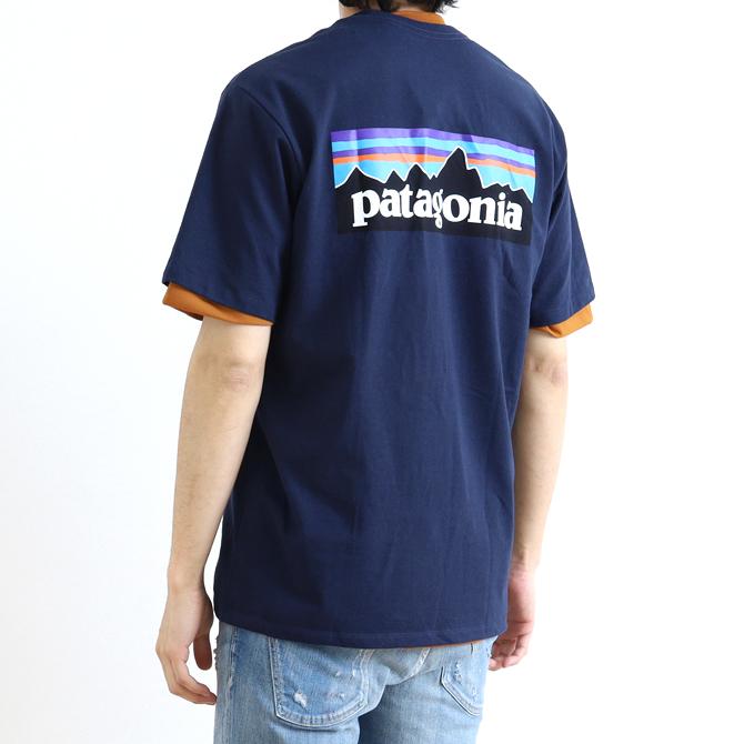 patagonia(パタゴニア) Men's P-6 Logo Responsibili Tee メンズ・P-6ロゴ・レスポンシビリティー 38504 メンズ 半袖Tシャツ