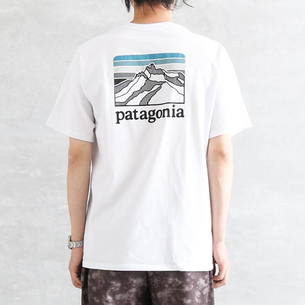 【今だけ10%OFF】Patagonia パタゴニア メンズラインロゴリッジポケットレスポンシビリティー
