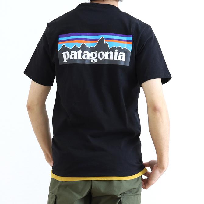 patagonia(パタゴニア) Men's P-6 Logo Pocket Responsibili Tee メンズ・P-6ロゴ・ポケット・レスポンシビリティー 38512 メンズ 半袖Tシャツ