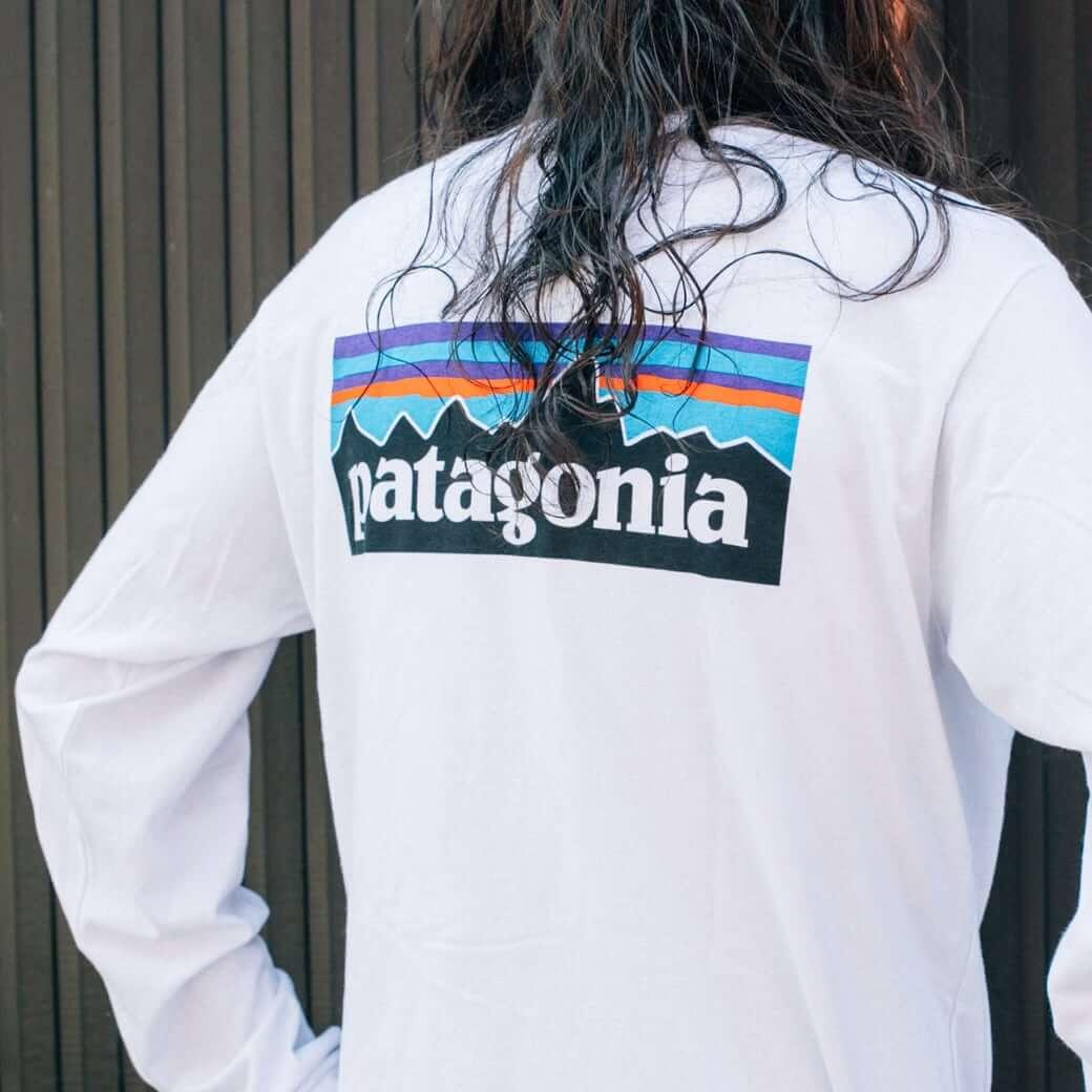 【今だけ10%OFF】patagonia パタゴニア メンズ・ロングスリーブ・P-6ロゴ・レスポンシビリティー