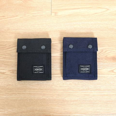 【今だけ10%OFF】PORTER ポーター 吉田カバン SMOKY スモーキー 縦型二つ折り財布 592-06333