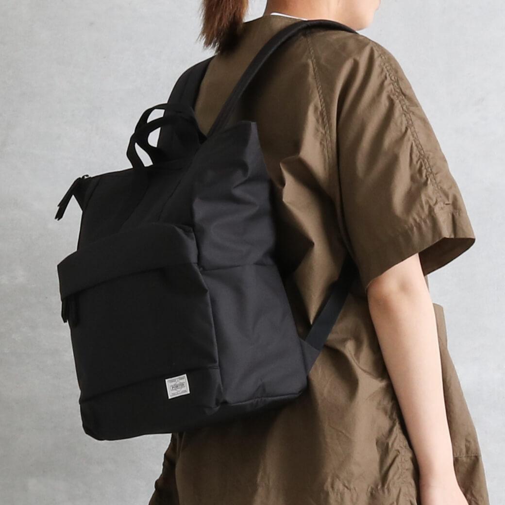 吉田かばん PORTER GIRL MOUSSE 2WAY デイパック(L)