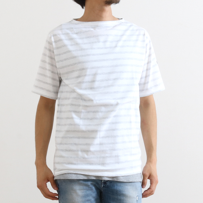 【今だけ10%OFF】SAINT JAMES セントジェームス PIRIAC ピリアック メンズ 半袖 Tシャツ