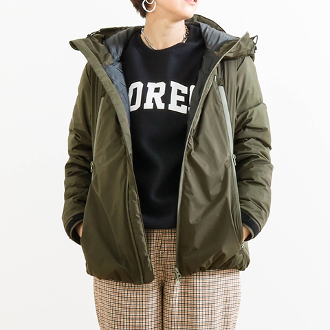 SHIGA DOWN 滋賀ダウン NANGA New City Light Parka 888NG001 レディース