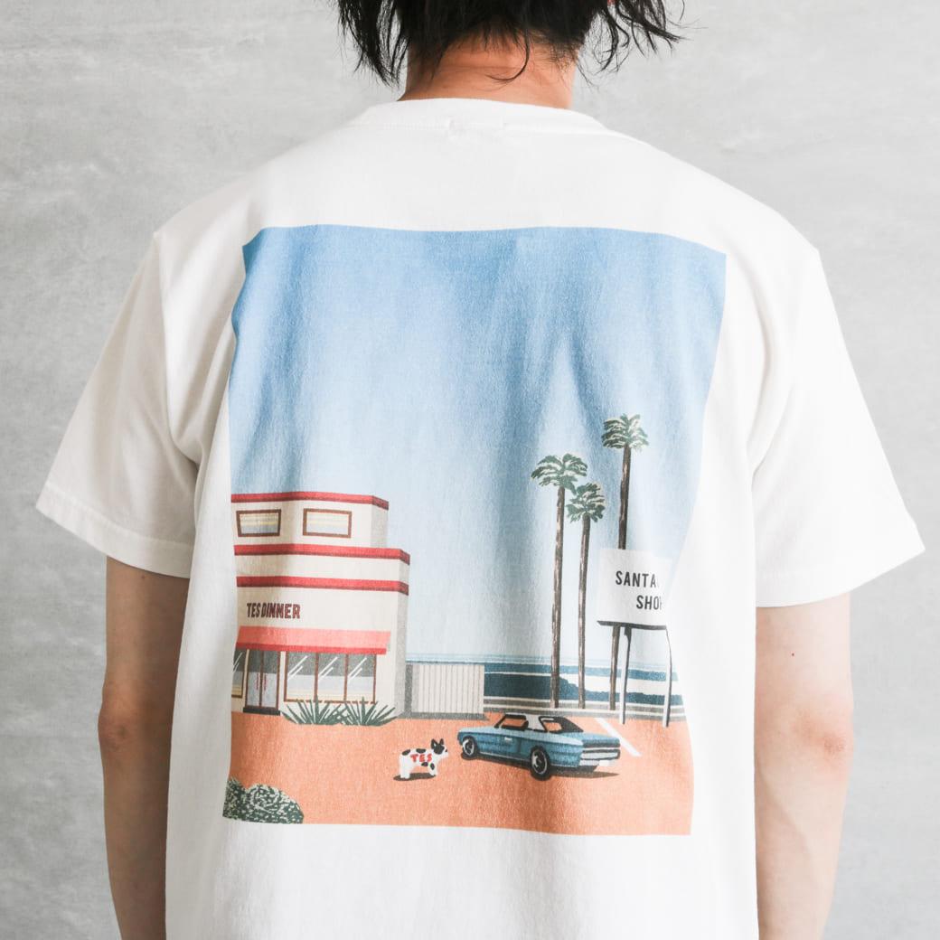 The Endless Summer エンドレスサマー MOTEL PUTS THE SURF DINNER T-SHIRT/Tシャツ