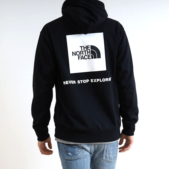 THE NORTH FACE(ザ・ノースフェイス)  Back Square Logo Hoodie バックスクエアロゴフーディ  NT12034 ユニセックスメンズ レディース ユニセックス パーカー