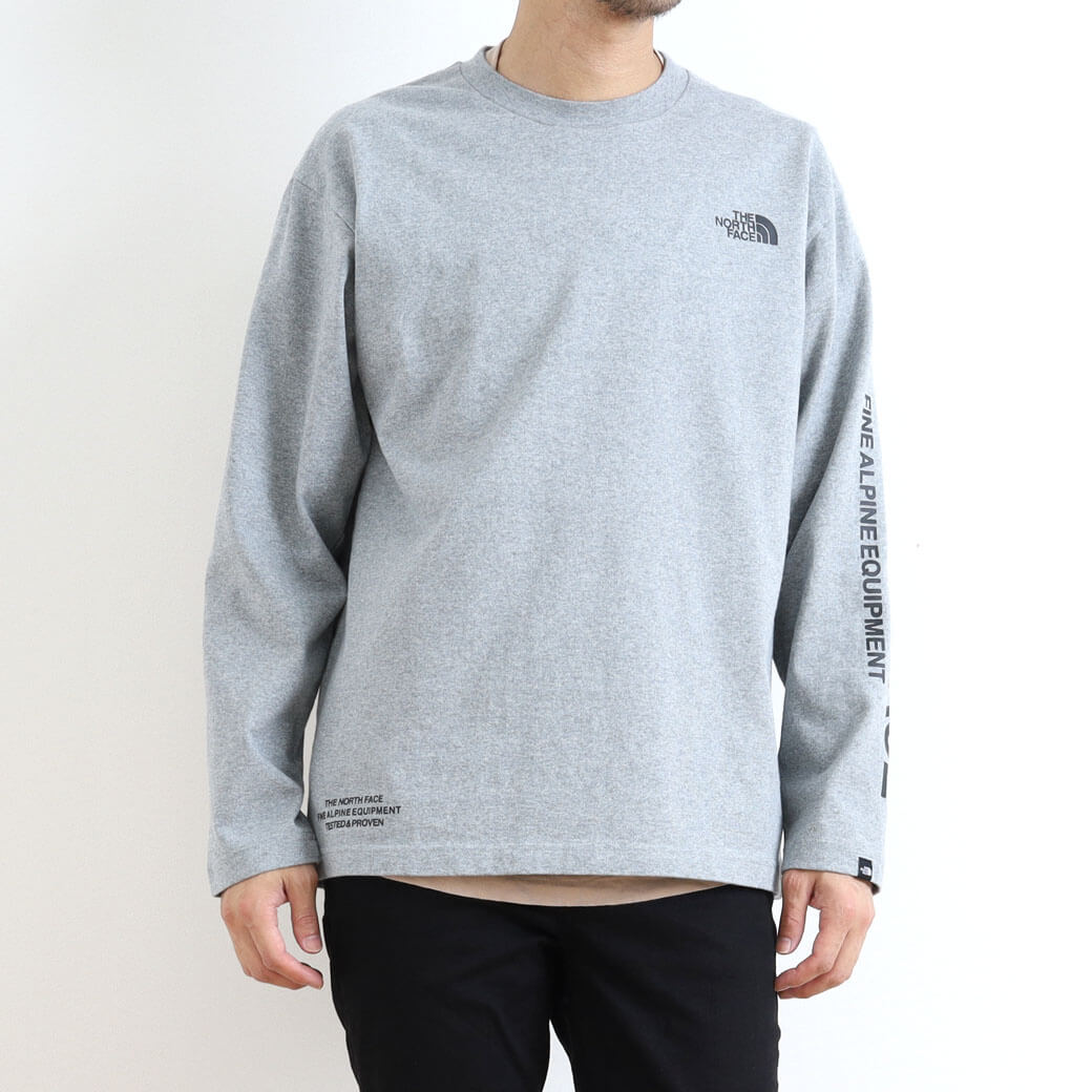THE NORTH FACE ザ・ノースフェイス L/S Tested Proven Tee ロングスリーブテステッドプルーブンTシャツ