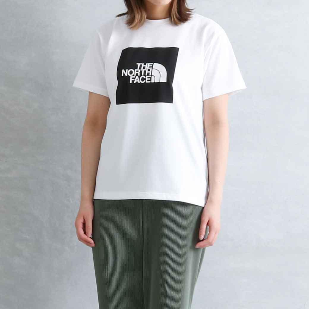 【今だけ10%OFF】THE NORTH FACE ザ・ノース・フェイス  S/SスクエアロゴTシャツ