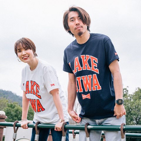 VOTE MAKE NEW CLOTHES ボートメイクニュークローズ Exclusive LAKE BIWA VOTE TEE 別注 レイク・ビワ・ボート・Tシャツ VTB-0001